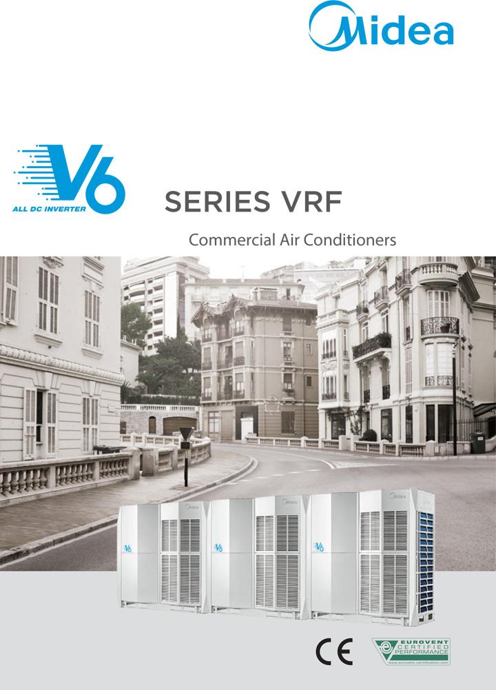 Каталог VRF системи Midea серия V6